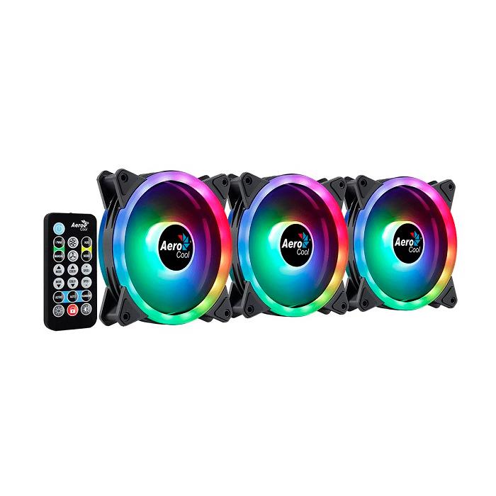 Корпусной вентилятор Aerocool Duo 12 Pro