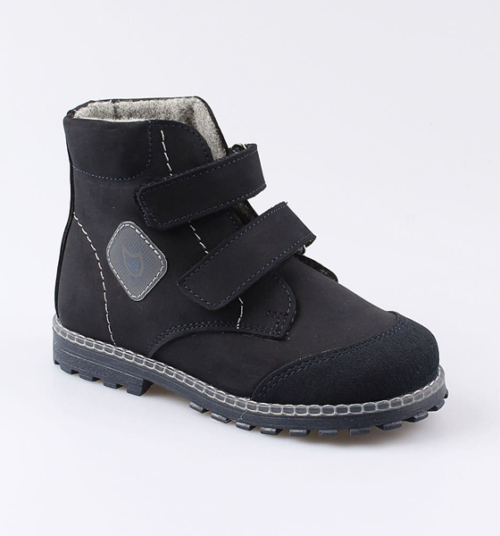 Купить Ботинки для мальчиков Котофей, цв. синий, р-р 26 352246-31_26,