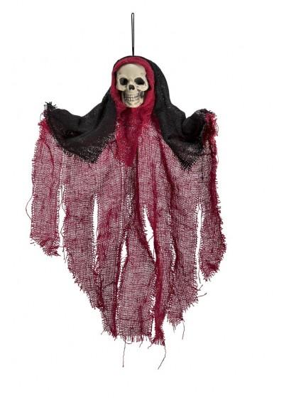 Купить Украшение АРТЭ Скелет в балахоне, красный, АРТЭ Театральная Галерея,