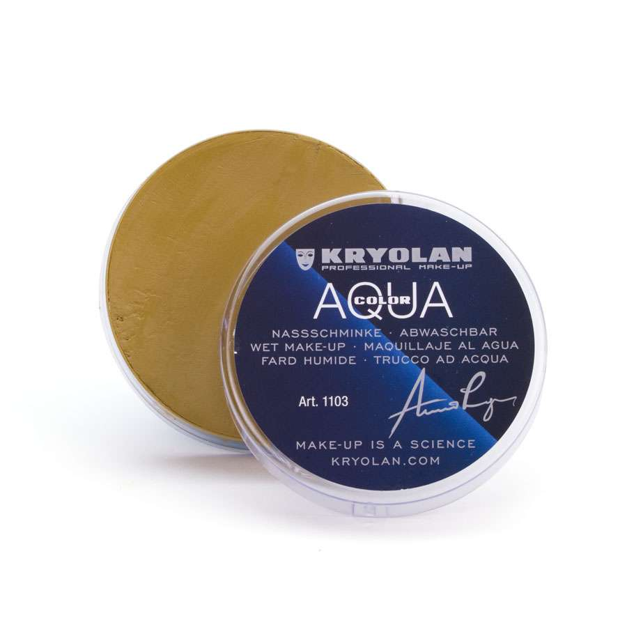 Аквагрим прессованный/Aquacolor 55 мл., Цв: 070/Kryolan/1103 070