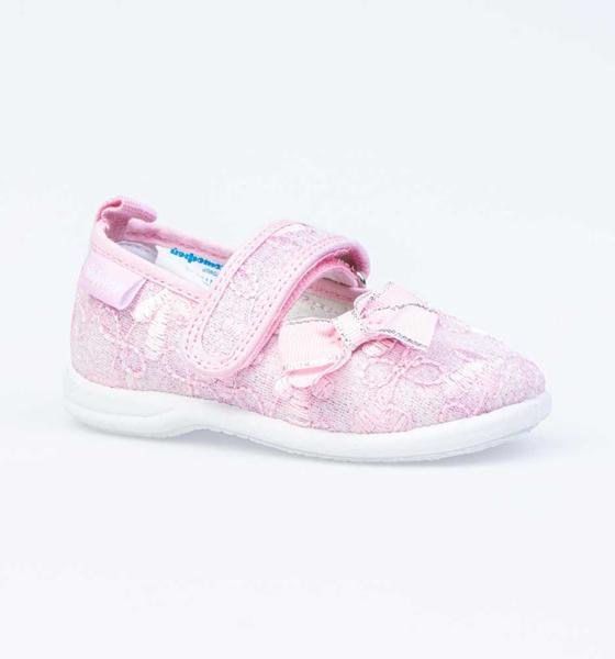 Текстильная обувь для девочек Котофей, цв. розовый, р-р 20