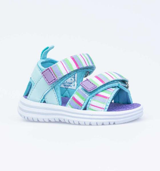 Пляжная обувь для девочек Котофей, цв. бирюзовый, р-р 21