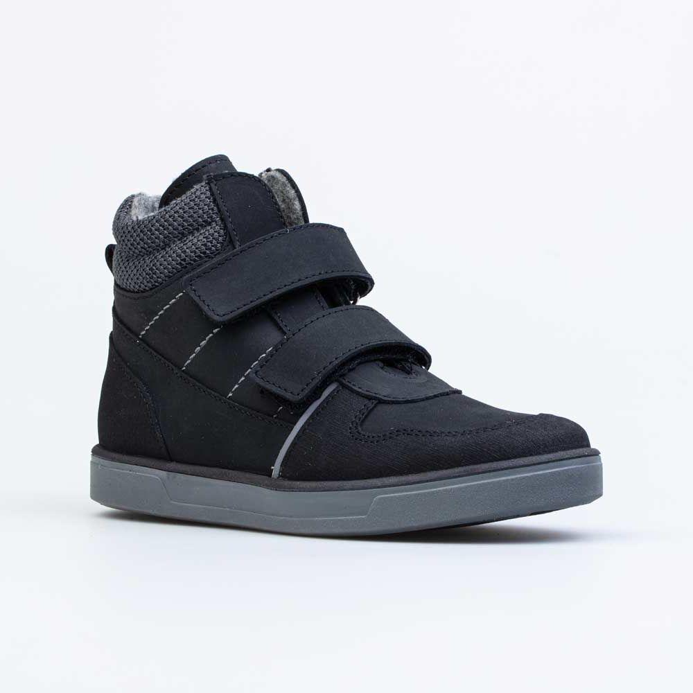 Купить 652167-31, Ботинки для мальчиков Котофей цв.черный р.37, 5,