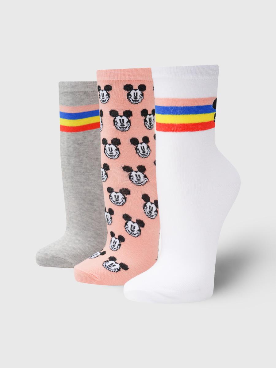Набор носков женских ТВОЕ A7158 разноцветных ONE SIZE