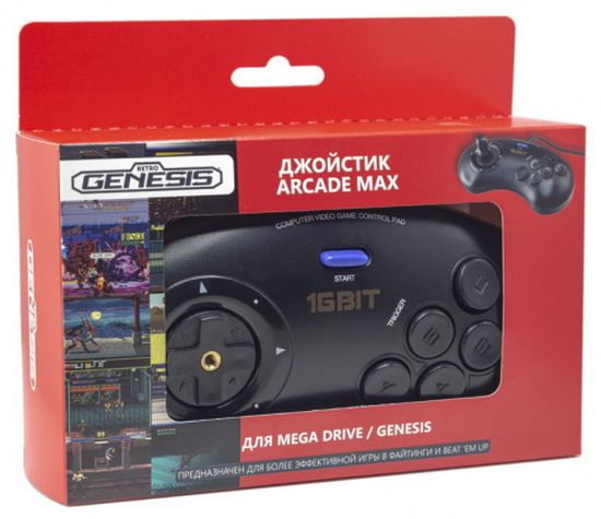 Геймпад Retro Genesis Arcade Max (ACSg12)