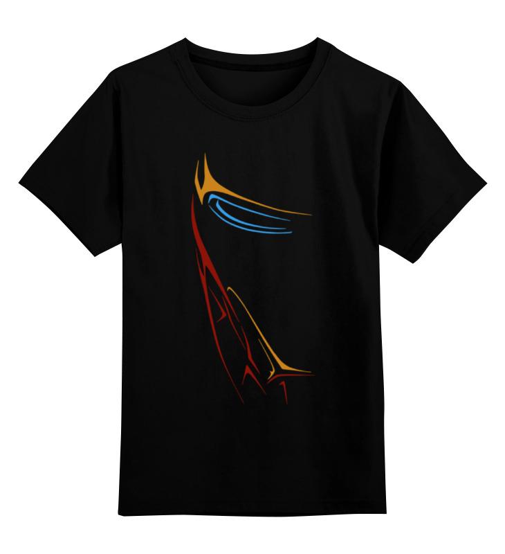 Купить 0000001432830, Детская футболка Printio Без названия цв.черный р.104,