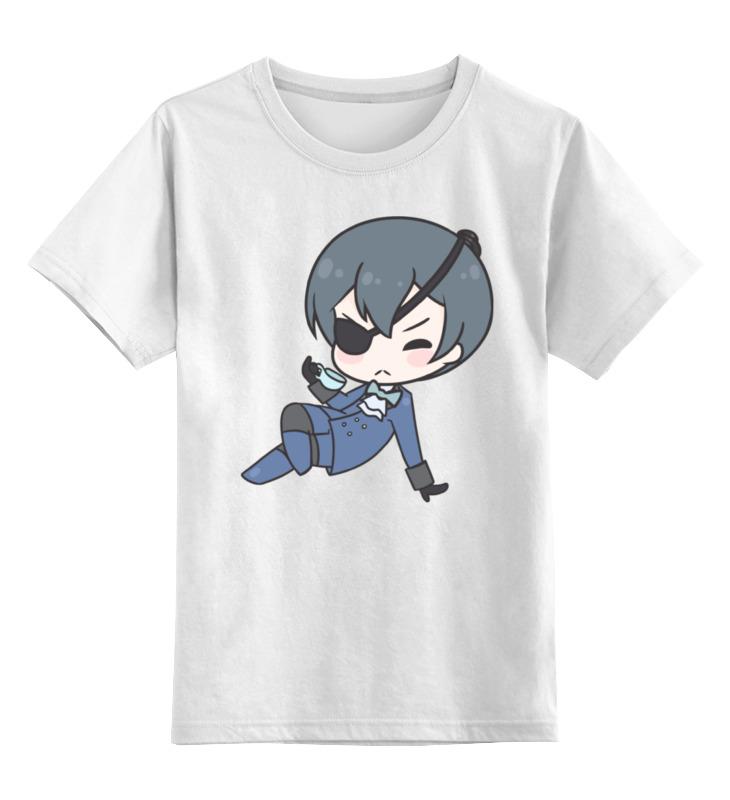 Детская футболка Printio Black butler цв.белый р.104 0000001295859 по цене 790