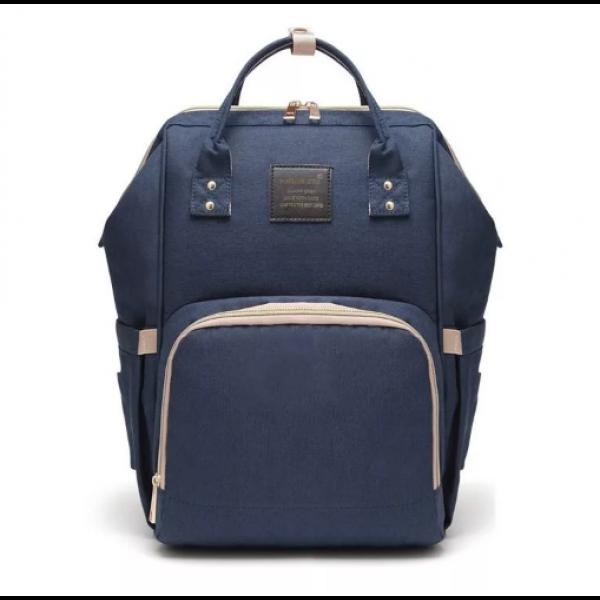Сумка-рюкзак для мам Anello темно-синяя Anello   фото