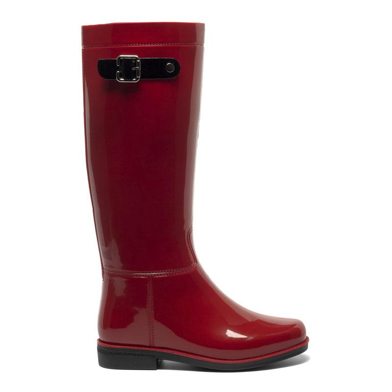 Резиновые сапоги женские Basconi 00000034951 красные 36 RU