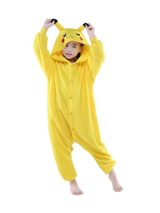 Купить Пижама кигуруми детская Family Shop Пикачу (возраст 2-3 года/85-102 см),