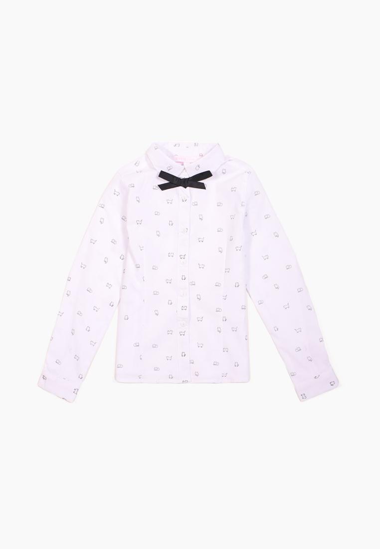 Купить M202K001851WGG_белый, Блузка для девочек Modis цв. белый р.158,