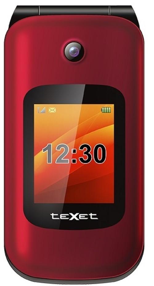 Мобильный телефон teXet TM B202 Red