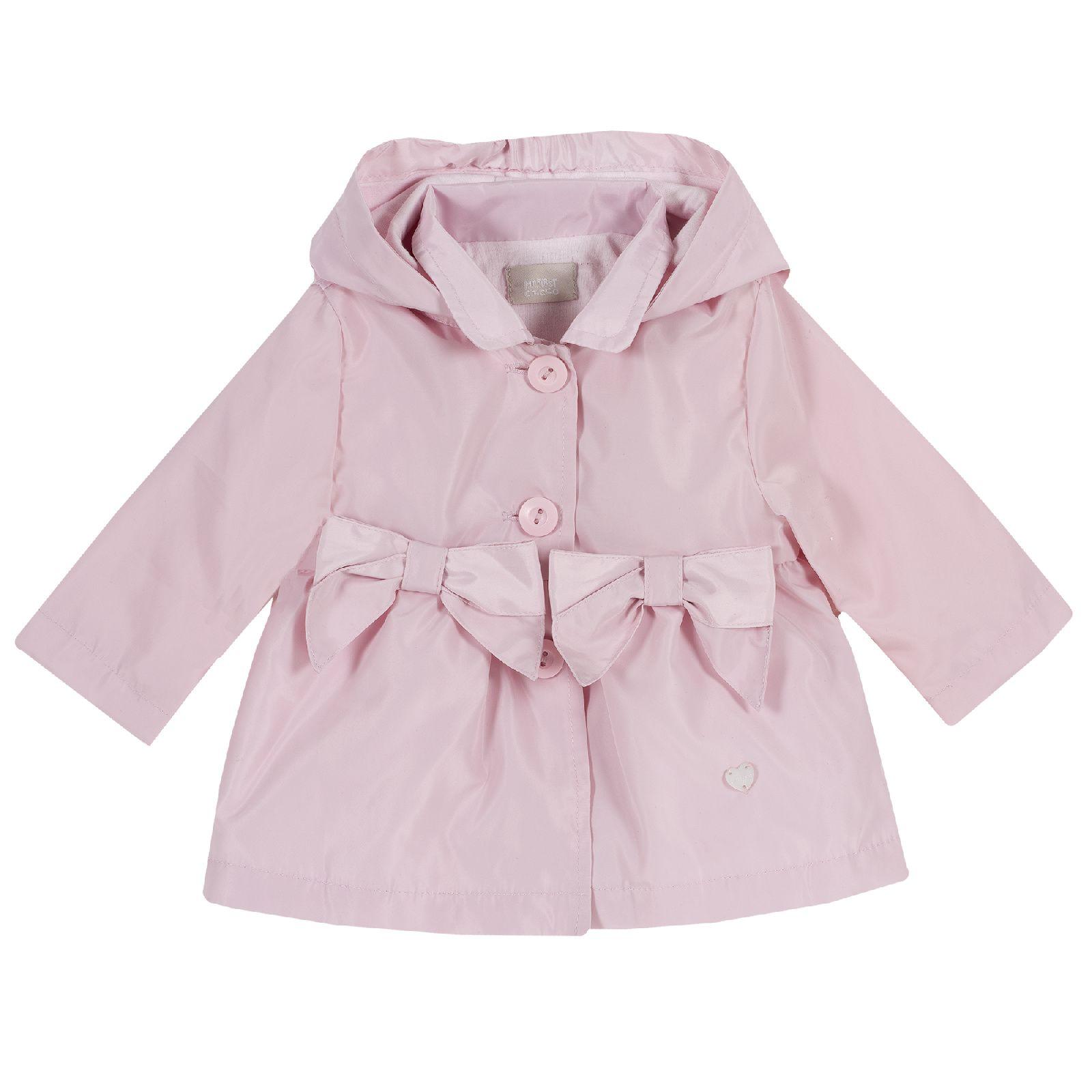 Куртка для девочек Chicco с бантами, цвет