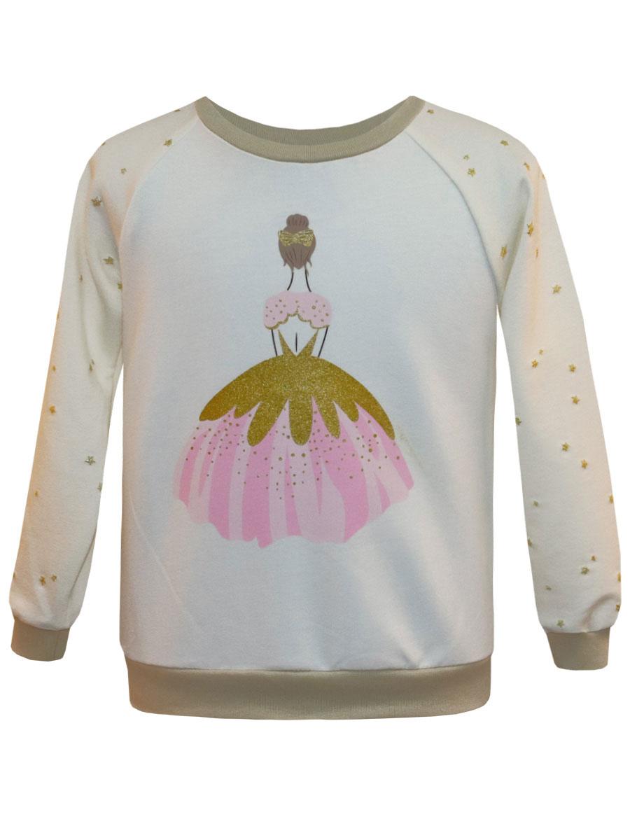 Купить Свитшот КотМарКот Балерина, 20769 р.116, Толстовки для девочек