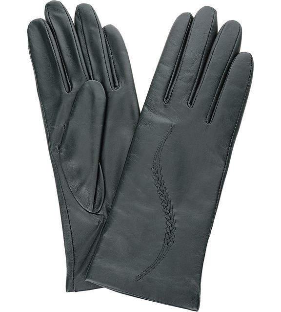 Кожаные перчатки с удлиненными пальцами, 7 (7) от Eleganzza