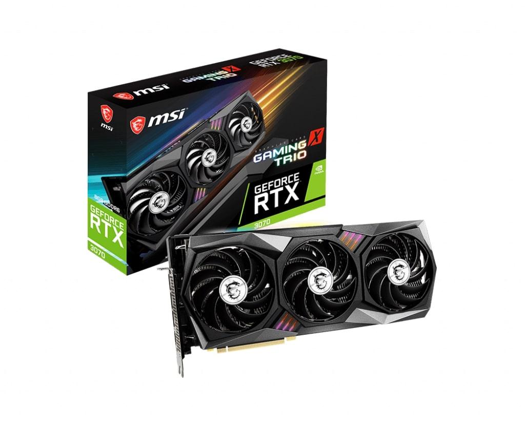 Видеокарта MSI Nvidia GeForce RTX 3070 GAMING