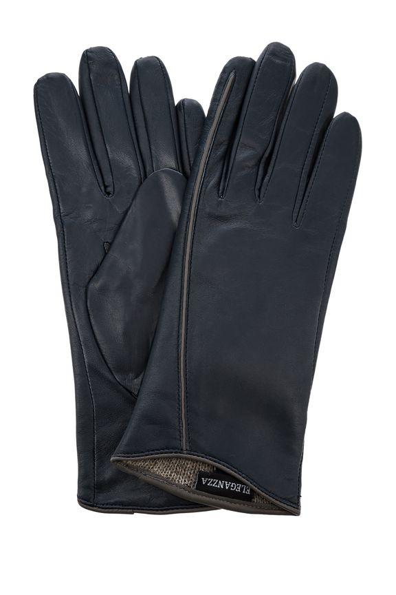Кожаные перчатки с подкладкой из шерсти, 7.5 (7.5) от Eleganzza