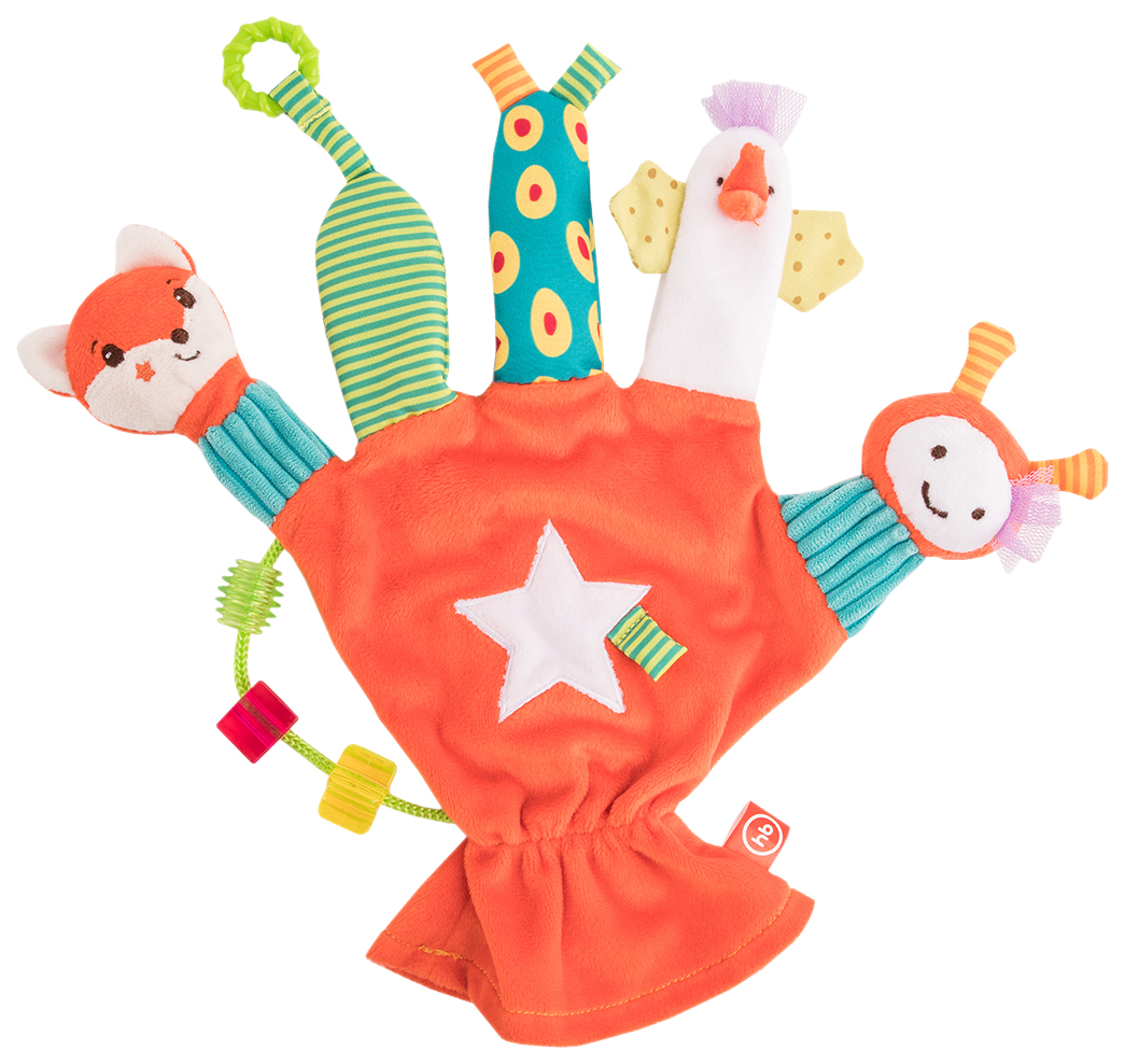 Игрушка-перчатка Дай пять Happy Baby