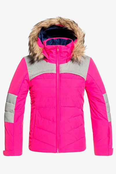 Детская сноубордическая куртка Bamba Roxy цв.розовый р.128 ERGTJ03076-MML0