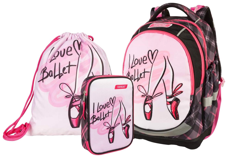 Купить Рюкзак супер легкий I love Ballet 3 в 1 Target,