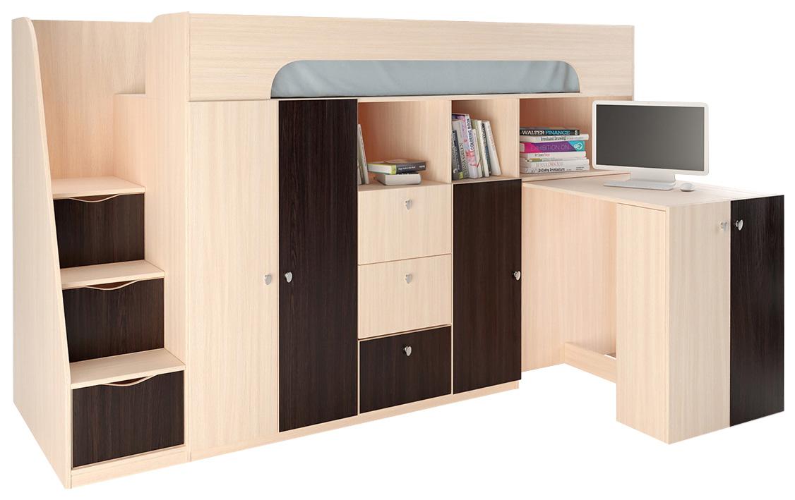 Кровать чердак Астра 11 РВ Мебель