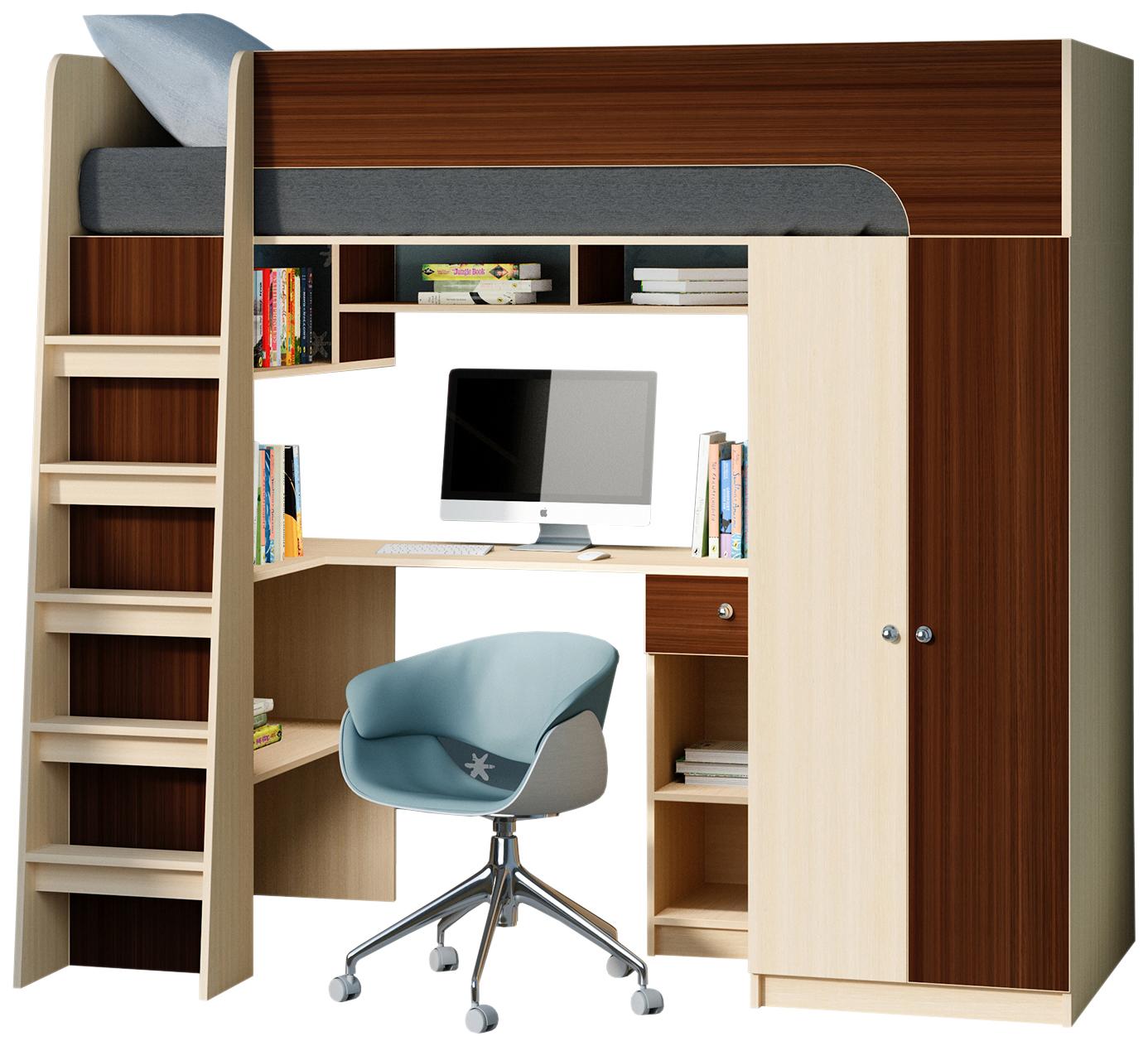 Кровать чердак Астра 10 РВ Мебель
