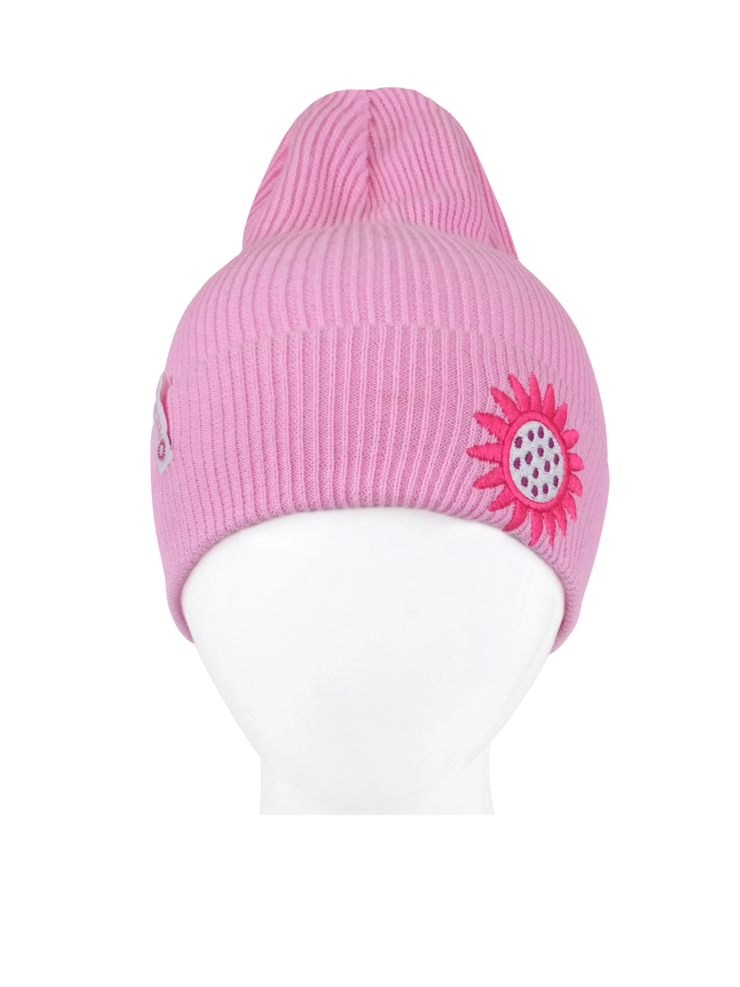 Купить Шапка для девочки Reike Сute bees pink, RKNSS20-CUB-YN-5 pink, р.54,
