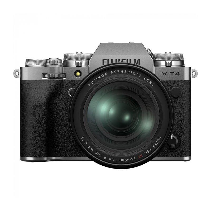 Фотоаппарат системный Fujifilm X-T4 16-80mm Silver X-T4 16-80
