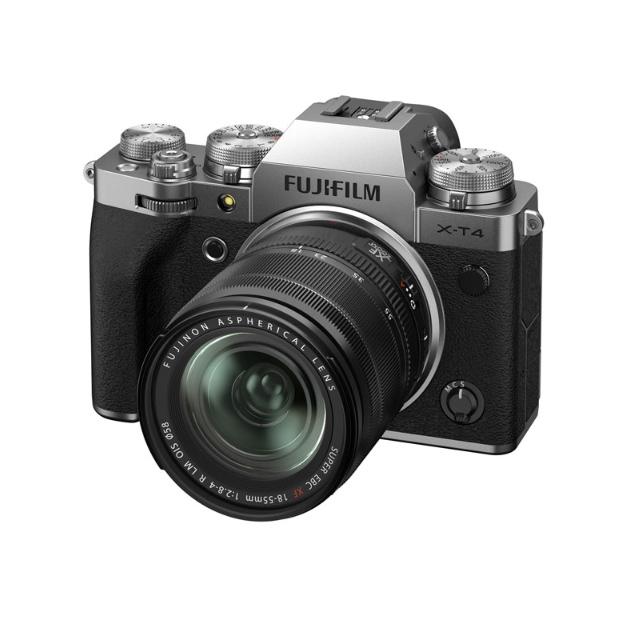 Фотоаппарат системный Fujifilm X-T4 18-55mm Silver X-T4 18-55
