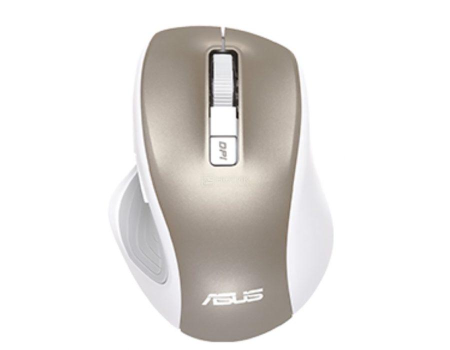 Беспроводная мышь Asus MW202 White/Gold (90XB066N BMU020)