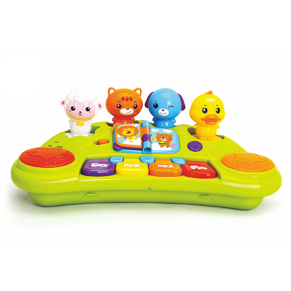 Развивающая игрушка HOLA Пианино Веселые зверята