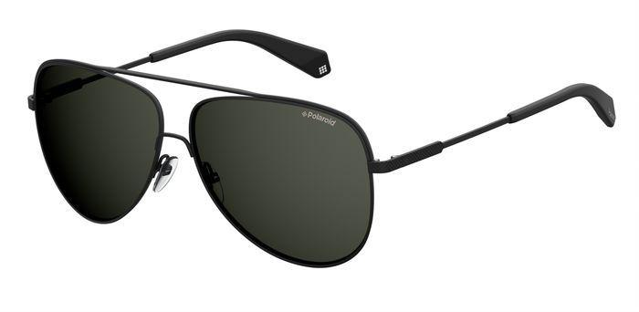 Солнцезащитные очки мужские POLAROID PLD 2054/F/S черные фото