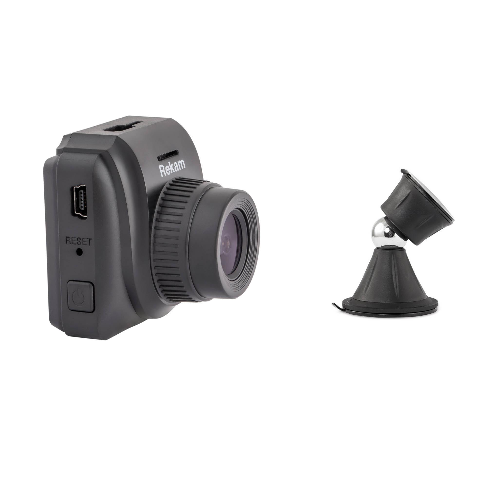Комплект видеорегистратор Rekam F240 плюс универсальный магнитный Rekam Magnitos M-15