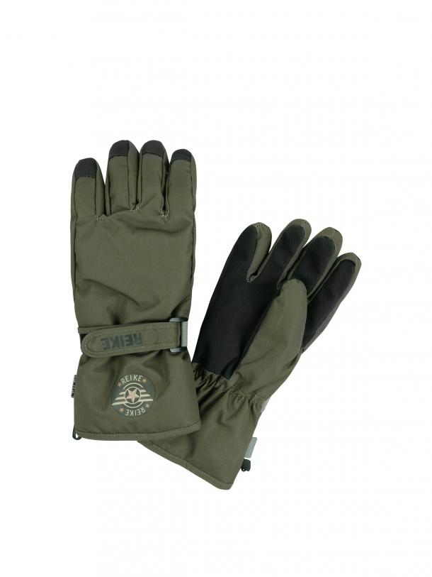 Перчатки для мальчика Reike Military khaki, RW20-MLT khaki, 8 /11 лет/ 16 см