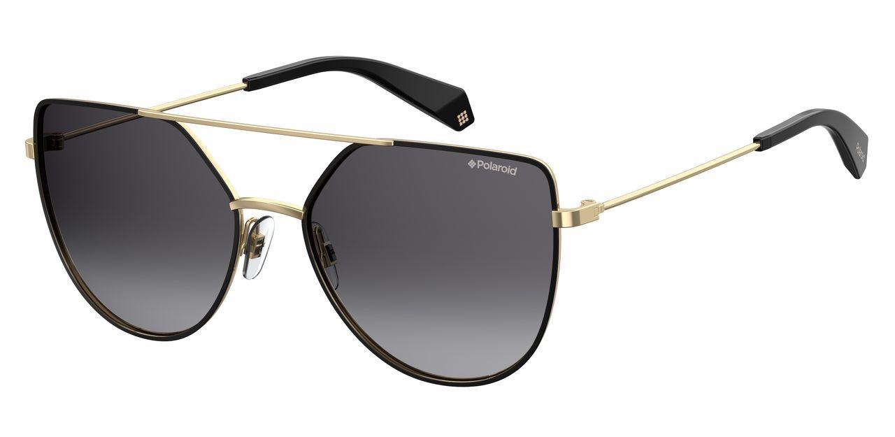 Солнцезащитные очки женские POLAROID PLD 6057/S золотистые фото