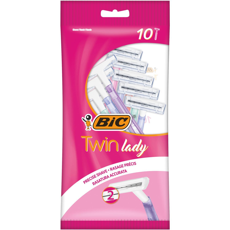 Бритва BIC Twin Lady 10шт