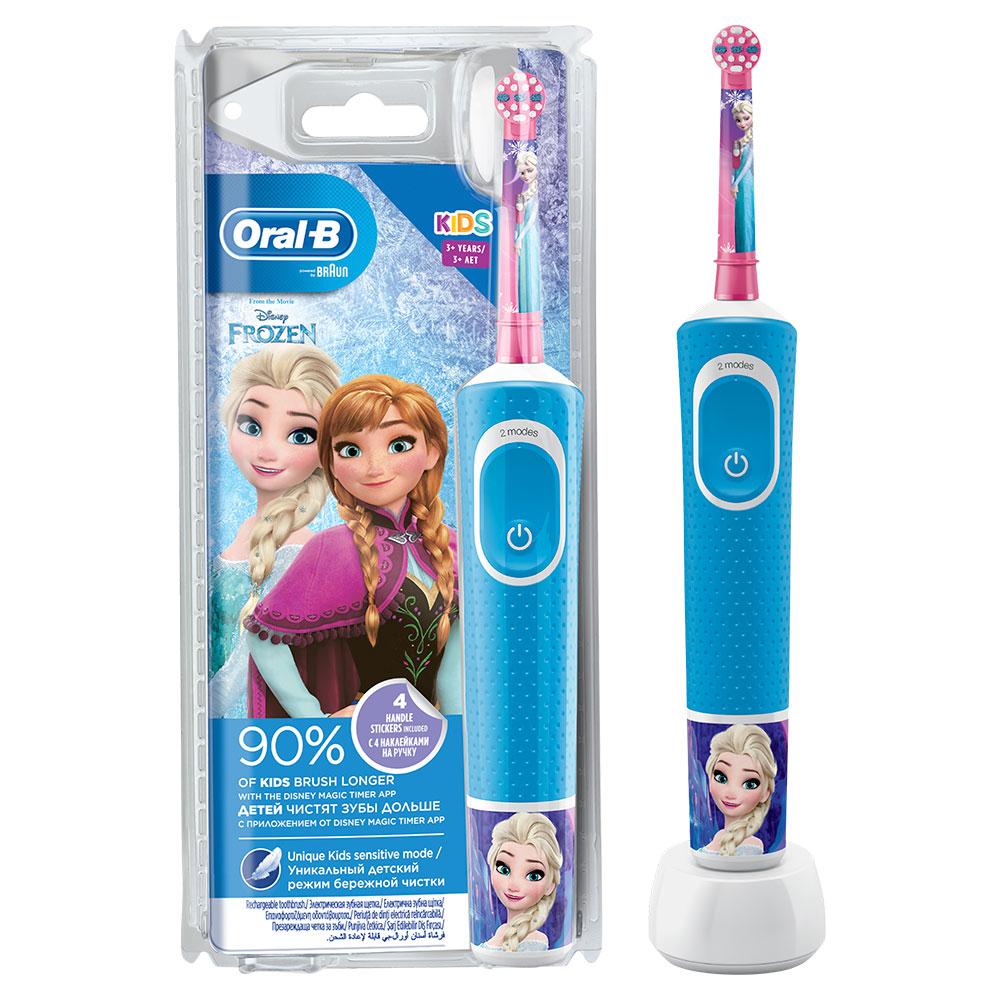 Электрическая зубная щетка Oral-B Vitality Kids Холодное сердце D100.413.2K