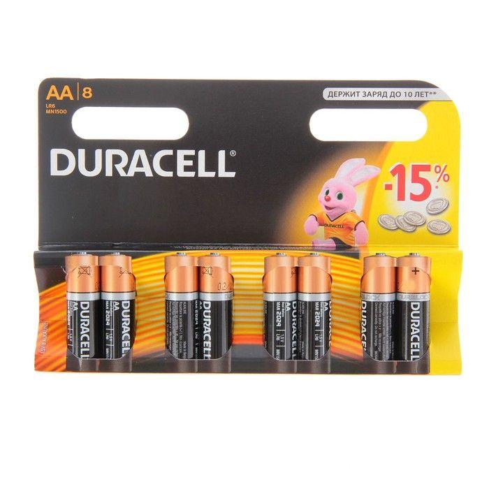 Батарейка Duracell LR6 8BL Basic