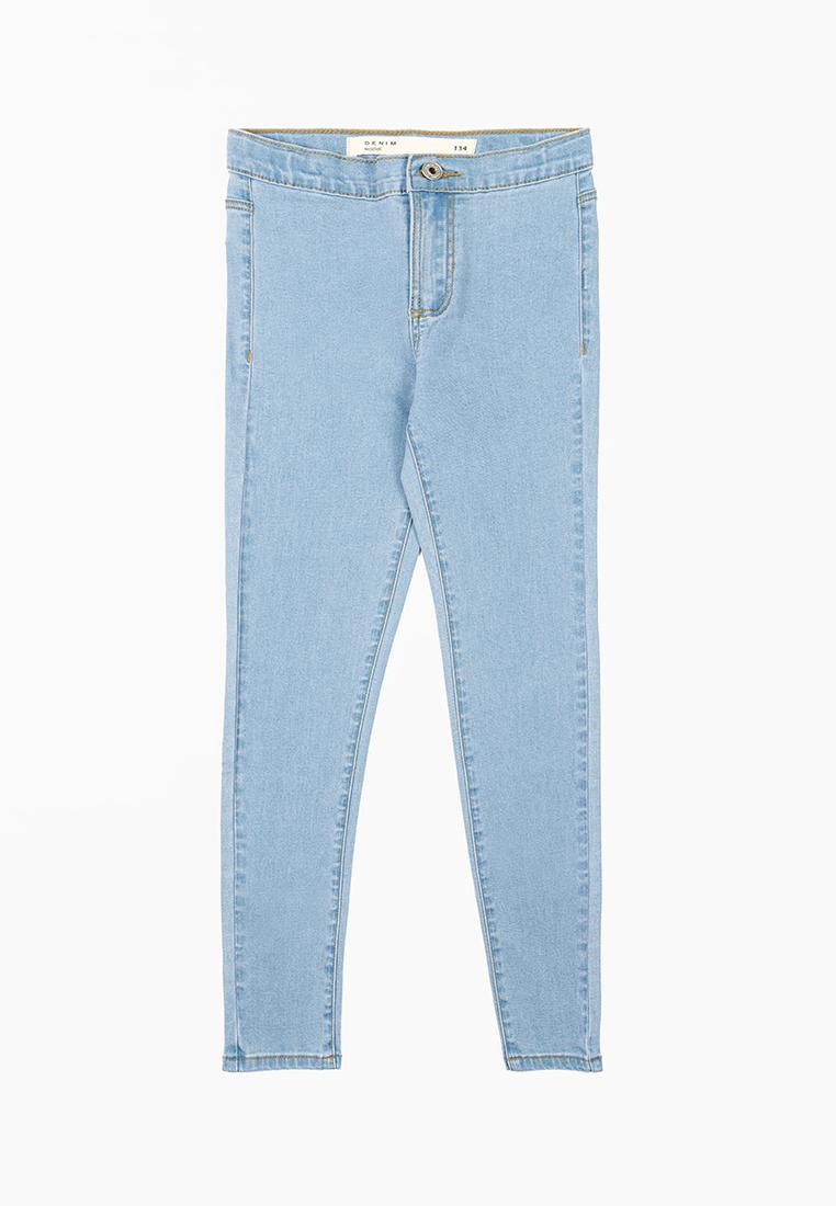Купить M201D00233T003_голубой, Джинсы для девочек Modis цв. голубой р.152,