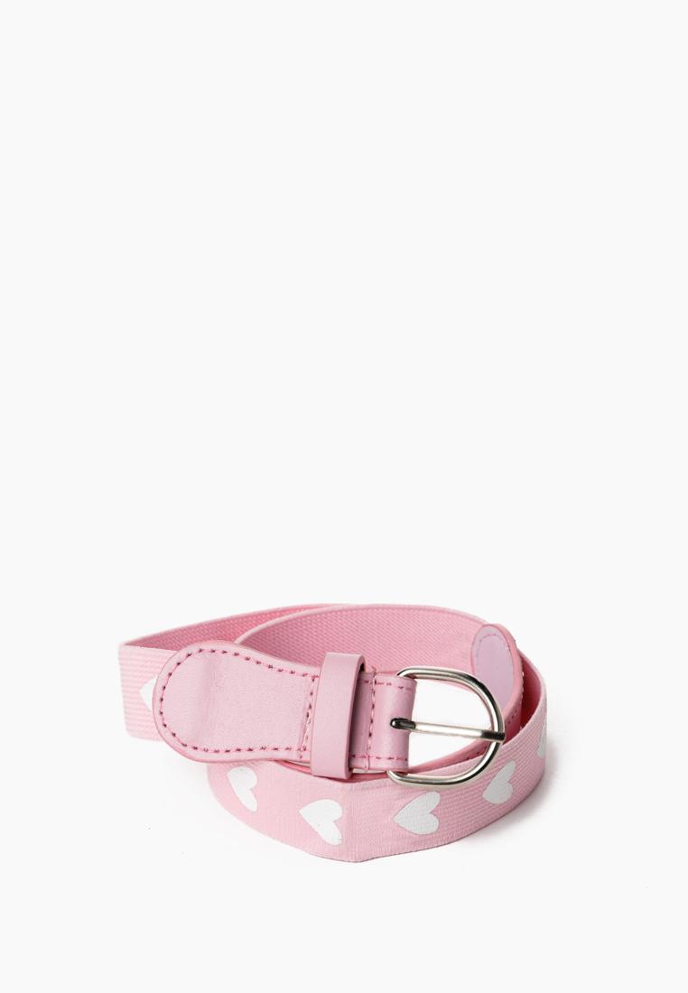 Ремень для девочек Modis цв. розовый р.70 см