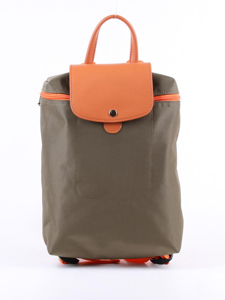 Рюкзак женский Медведково 19с1504-к14 хаки фото