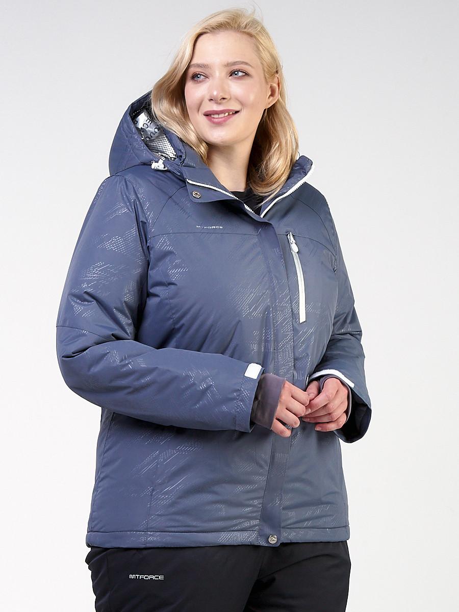 Куртка MTFORCE горнолыжная женская большого размера 21982S