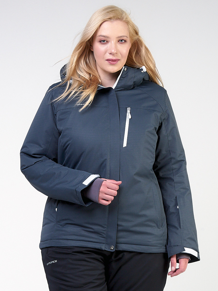 Куртка MTFORCE горнолыжная женская большого размера 11982TC