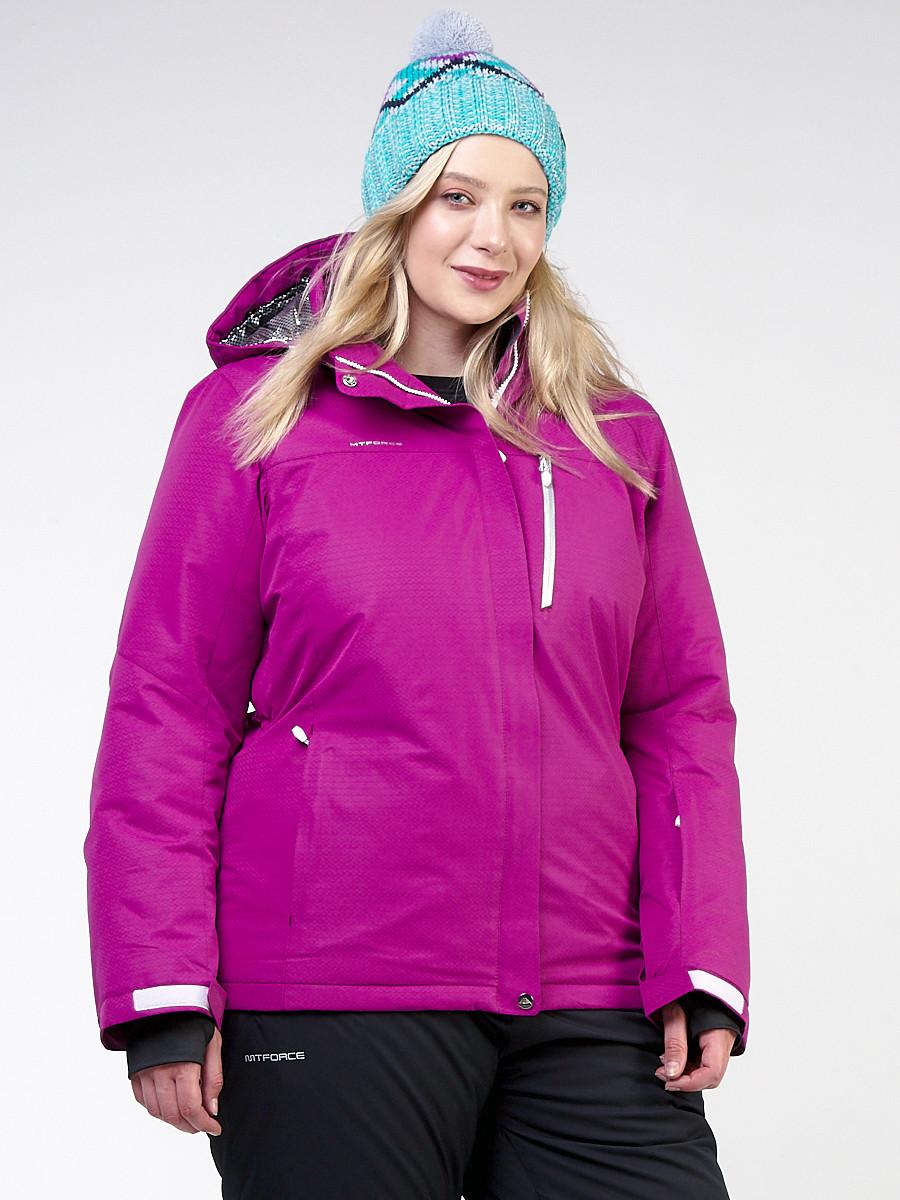 Куртка MTFORCE горнолыжная женская большого размера 11982F