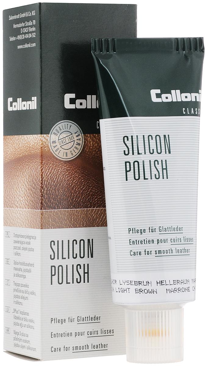 Крем для обуви Collonil Silicon Polish черный