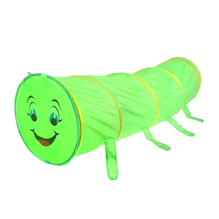 Детский туннель Sima land Гусеничка, цвет зелёный