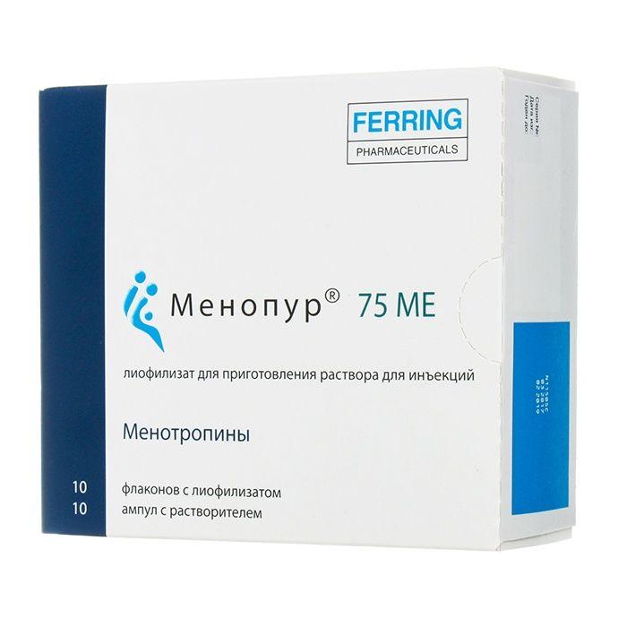 Менопур лиофилизат 10 шт.