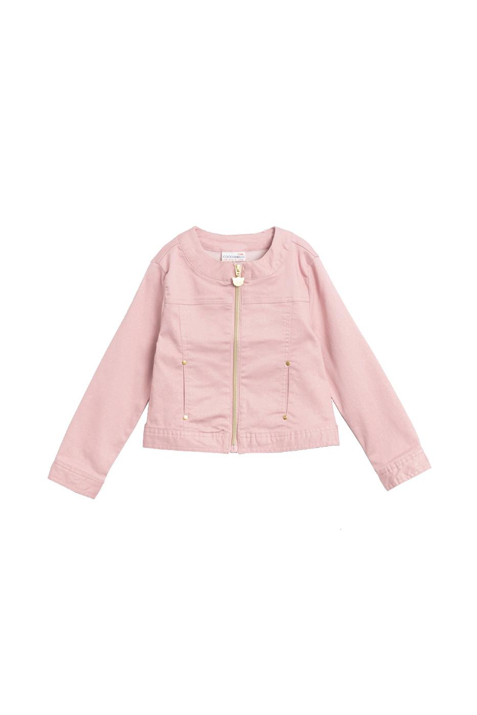 Купить W20152301CAT, Ветровка для девочки COCCODRILLO цв.розовый р.116, Ветровки для девочек