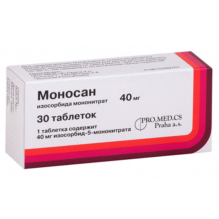 Моносан таблетки 40 мг 30 шт.