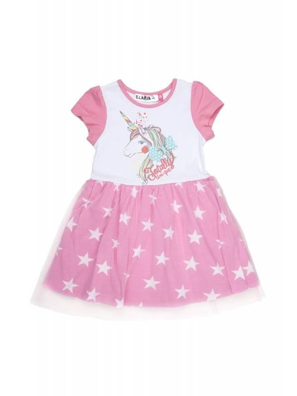Купить 342997_розовый, Платье Elaria 342997 цв.розовый р.128,